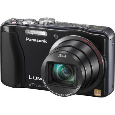 image for Panasonic Lumix ZS20 14.1 MP High Sensitivity MOS Digital Camera with 20x Optical Zoom (Black)