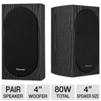 image for Pioneer SP-BS22-LR Andrew Jones Designed Bookshelf Loudspeakers