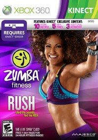 image for Zumba Fitness Rush - Xbox 360