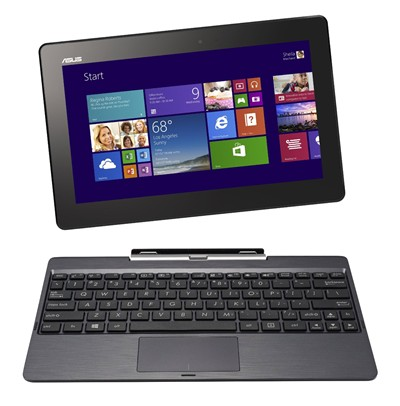image for ASUS Transformer Book T100TA-C1-GR 10.1-Inch Convertible 2-in-1 Touchscreen Laptop (Gray)