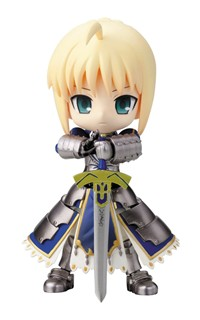 image for Kotobukiya Fate/Stay Night Saber Cu-Poche Figure
