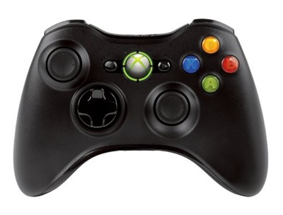 image for Xbox 360 Wireless Controller - Glossy Black