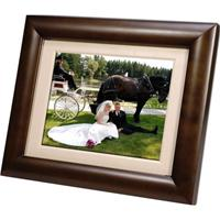 image for Smartparts 8 Digital Picture Frame - Espresso Brown