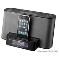 image for Sony iPod-iPhone Speaker Dock-Clock Radio