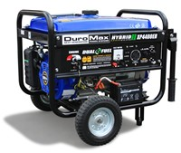 image for DuroMax XP4400EH 7 HP Dual Fuel Propane/Gas Powered Portable Electric Start Generator, 4400-Watt