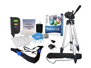 image for ZEIKOS ZE-DK111 11 - in - 1 Digital & Video Camera Kit