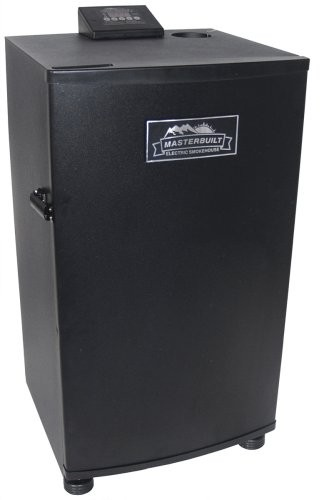 image for Masterbuilt 20070910 30-Inch Electric Smokehouse Smoker, Black