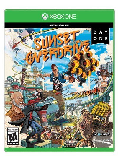 image for Sunset Overdrive Day One Edition - Xbox One
