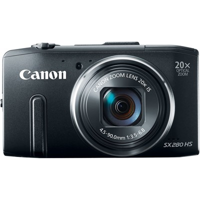 image for Canon PowerShot SX280 12MP Digital Camera with 20x Optical Image Stabilized Zoom with 3-Inch LCD (Black)
