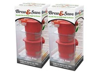 image for Brew and Save Refillable K Cup for Keurig Brewers, 4-Count