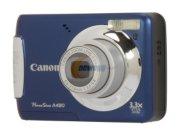 "image for Canon PowerShot A480 Blue 10.0 MP 2.5"" 115K LCD 3.3X Optical Zoom Digital Camera"