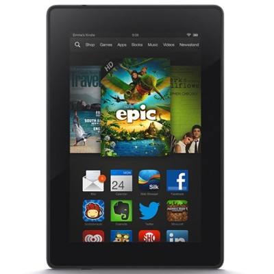 "image for Kindle Fire HD 7"", HD Display, Wi-Fi, 16 GB - Includes Special Offers (Previous Generation - 3rd)"