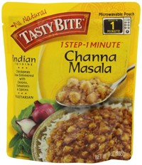 image for Tasty Bite Channa Masala Heat & Eat Entree, 10 Ounce Pouches (Pack of 6)