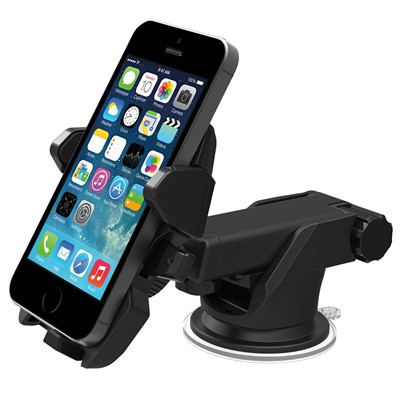 image for iOttie Easy One Touch 2 Car Mount Holder for iPhone 6 (4.7)/Plus (5.5) /5s/5c, Samsung Galaxy S5/S4/S3/Note 4/3, Google Nexus 5/4, LG G3 - Retail Packaging - Black
