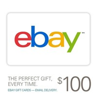 image for 100 eBay Gift Card for only $95 - Email delivery