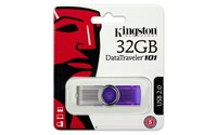image for Kingston Digital 32GB DataTraveler 101 G2 USB 2.0 Drive - Purple (DT101G2/32GBZET)