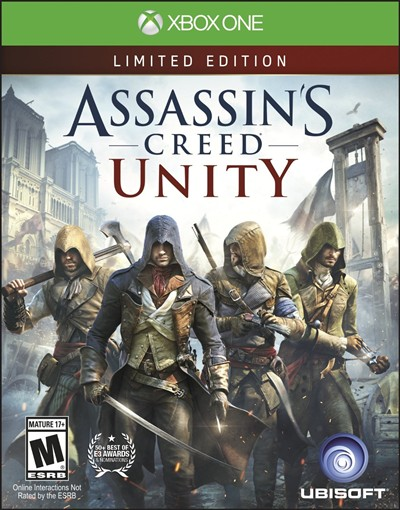 image for Assassin's Creed Unity Xbox One