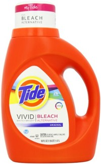 image for Tide Vivid White + Bright HE Original Scent Liquid Laundry Detergent 26 Loads 50 Fl Oz (Pack of 2)