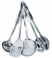 image for Amco Stainless Steel 5-Piece Utensil Set