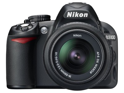 image for Nikon D3100 Digital SLR Camera w/18-55mm VR Lens