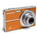 image for Olympus 12MP 3x Optical zoom Digital Camera w/Lithium Battery (Orange) - FE-3010