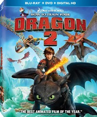 image for How to Train Your Dragon 2 [Blu-ray, DVD, Digital HD]