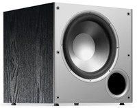 image for Polk Audio PSW10 10-Inch Monitor Series Powered Subwoofer (Single, Black)
