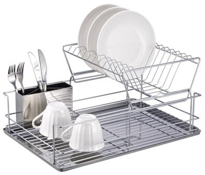 image for Home Basics 2-Tier Dish Rack