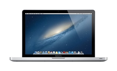 "image for Apple 15.4"" MacBook Pro quad-core Intel Core i7 2.3GHz, 4GB RAM, 500GB 5400-rpm hard drive, Intel HD Graphics 4000, Ships with Mountain Lion (MD103LL/A)"