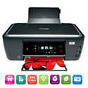 image for Lexmark Interact S605 Home Office Wireless 3-in-1 Color Inkjet Printer - 60S0000