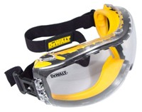 image for DEWALT DPG82-11C Concealer Clear Anti-Fog Dual Mold Safety Goggle