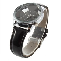 image for New Fashion Women Girl Disney Mickey Mouse Quartz Wrist Watch (Black)