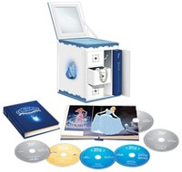 image for Cinderella Trilogy with Limited Edition Collectible Jewelry Box Packaging (Six-Disc Combo: Blu-ray/DVD + Digital Copy)