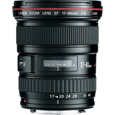 image for Canon EF 17-40mm f/4L USM Ultra Wide Angle Zoom Lens for Canon SLR Cameras