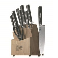 image for Ginsu Koga-Marquee Series 07150 10 Piece Cutlery Set with Bamboo Block