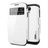 image for Spigen SGP10344 Slim Armor View Case for Samsung Galaxy S4 - Retail Packaging - Infinity White