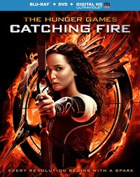 image for The Hunger Games: Catching Fire (DVD / Blu-ray Combo + UltraViolet Digital Copy)