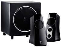 image for Logitech Speaker System Z523 with Subwoofer