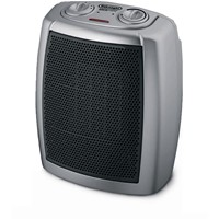 image for DeLonghi DCH1030 Safeheat 1500W Basic Ceramic Heater - Gray/Black