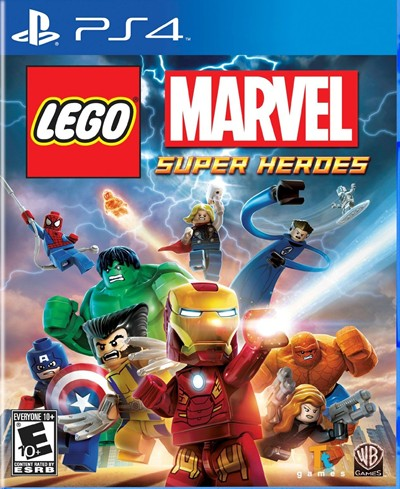 image for LEGO Marvel Super Heroes - PlayStation 4