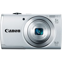 image for Canon PowerShot A2500 16MP Digital Camera (Silver)