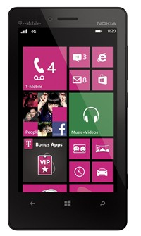 "image for Nokia Lumia 810 8GB Unlocked GSM Phone with Windows 8 OS, 8MP Camera + Seconday 1.2MP Camera, Video, Dual-Core Processor, Dolby Sound Enhancement, Nokia ClearBlack Display, 4.3"" AMOLED Touchscreen, GPS, Wi-Fi, Bluetooth, MP3/MP4 Player, SNS Integration and microSD Slot up to 64GB - Black"