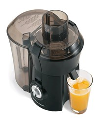 image for Hamilton Beach 67601 Big Mouth Juice Extractor, Black