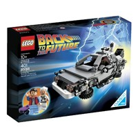 image for LEGO 21103 The DeLorean Time Machine Building Set