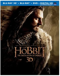 image for The Hobbit: The Desolation of Smaug (Blu-ray 3D + Blu-ray + DVD + Digital HD UltraViolet Combo Pack)