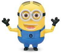 image for Despicable Me 2 Minion Dave Talking Action Figure
