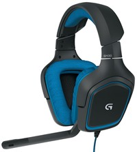 image for Logitech G430 Surround Sound Gaming Headset with Dolby 7.1 Technology