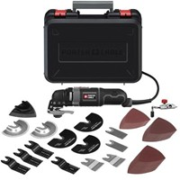 image for PORTER-CABLE PCE605K52 3-Amp Oscillating Multi-Tool Kit with 52 Accessories