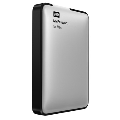 image for WD My Passport for Mac 1TB Portable External Hard Drive Storage USB 3.0 (WDBLUZ0010BSL-NESN)