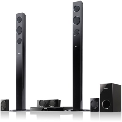 image for Panasonic SC-BTT195 Full HD 3D Blu-Ray Home Theater System w/ Tall Boy Speakers
